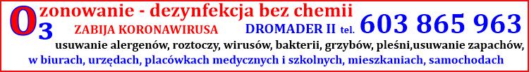 ozonowanie - Dromader II