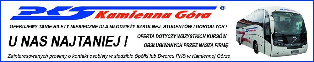 PKS Kamienna Góra - bilet miesięczny