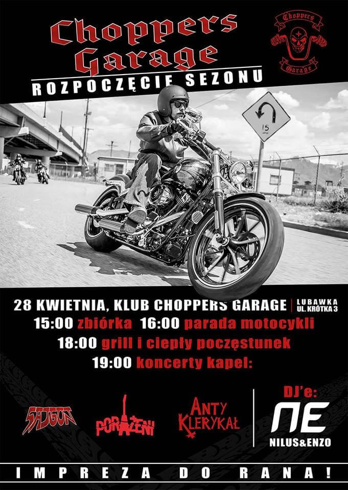 Choppers Garage Lubawka