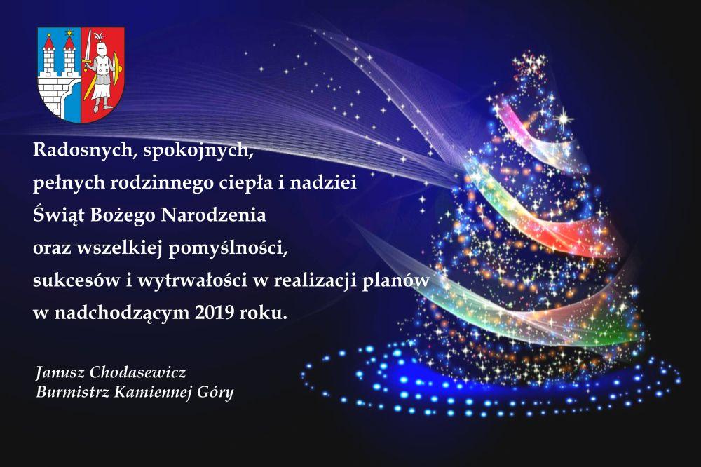 Boże Narodzenie 2018 Burmistrz Kamiennej Góry Powiatowainfo